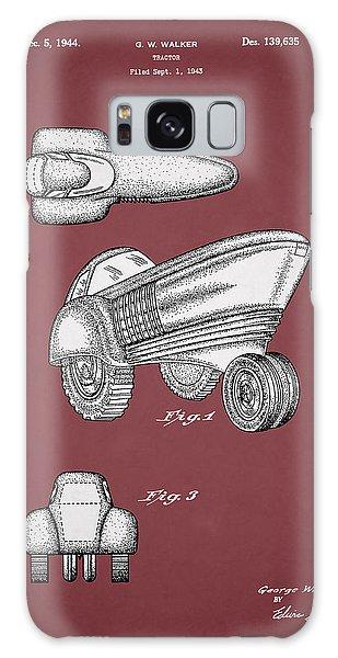 John Deere Galaxy Case - Tractor Patent 1944 by Mark Rogan