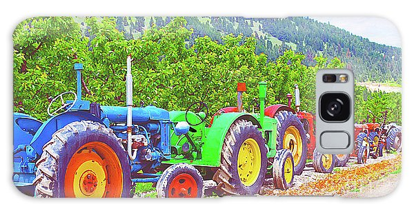 Oyama Galaxy Case - Tractor Row by Malanda Warner