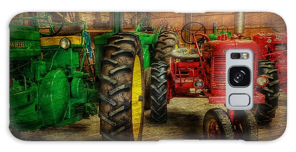Tractors At Rest - John Deere - Mccormick - Farmall - Farm Equipment - Nostalgia - Vintage Galaxy Case