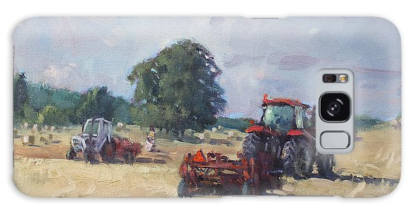 Georgetown Galaxy S8 Case - Tractors In The Farm Georgetown by Ylli Haruni