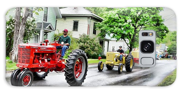 Tractors On Parade Galaxy Case by Rena Trepanier