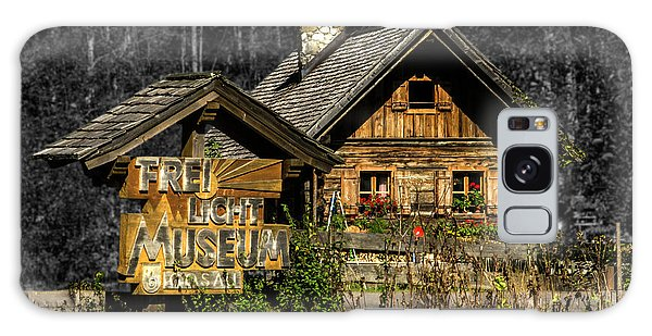 Traditional Austrian Wooden House Galaxy Case