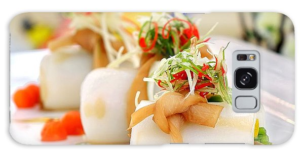 Traditional Chinese Hakka Rice Noodle Roll Galaxy Case