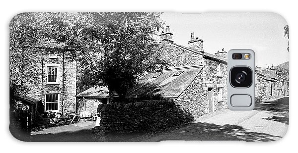 Grasmere Galaxy Case - Traditional Lake Stone Slate Built Cottages In The Hamlet Of Town End Near Grasmere Lake District Cu by Joe Fox