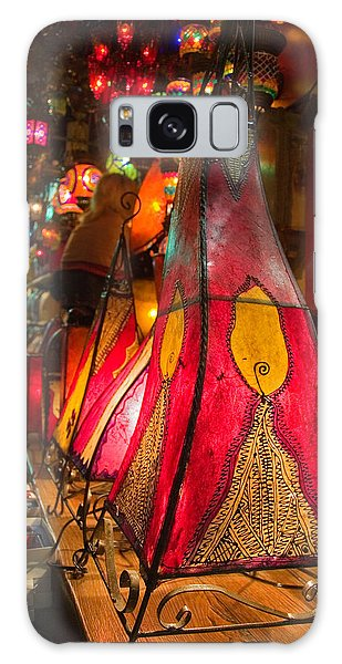 Galaxy Case - Traditional Oriental Skin Lamps In Istanbul  Grand Bazar by Iordanis Pallikaras