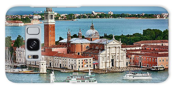 Traffic Around The Venetian Church Galaxy Case
