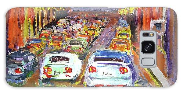 Traffic Jam Galaxy Case by Janet Garcia