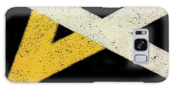 Galaxy Case featuring the photograph Traffic Line Conversion 2 by Gary Slawsky