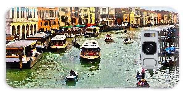 Traghetto, Vaporetto, Gondola  Galaxy Case