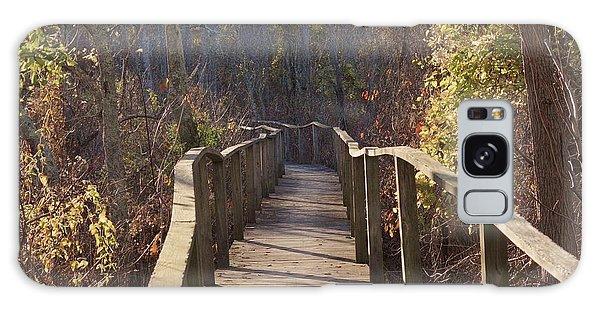 Trail Bridge Galaxy Case