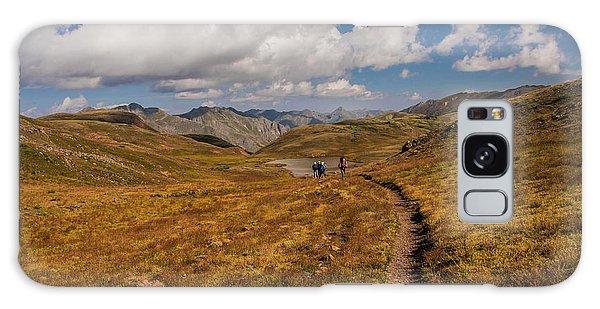 Trail Dancing Galaxy Case