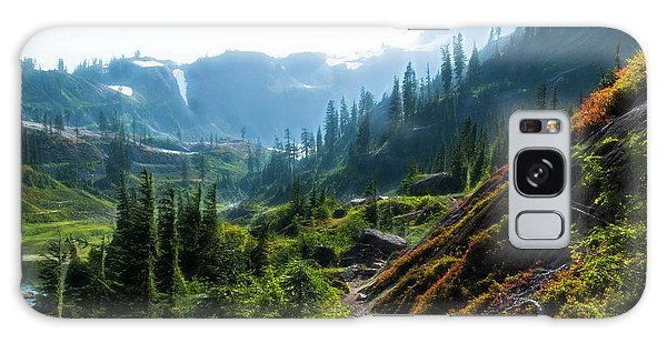 Trail In Mountains Galaxy Case