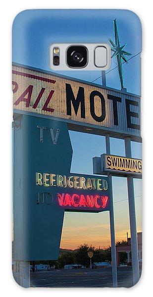 Trail Motel At Sunset Galaxy Case