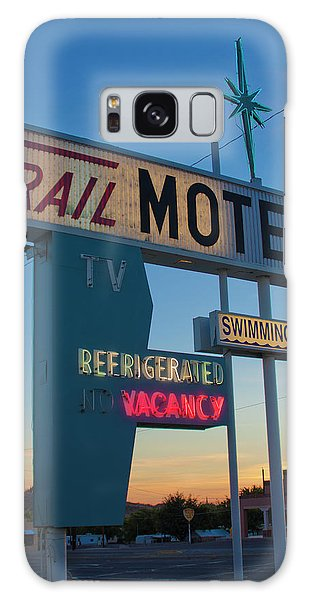 Trail Motel At Sunset Galaxy Case