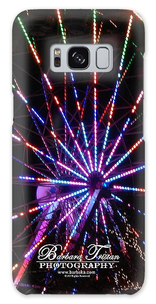 Trail Of Lights #7427 Galaxy Case by Barbara Tristan