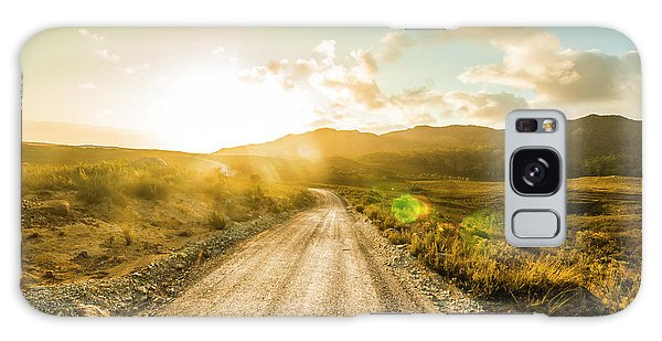Bright Sun Galaxy Case - Trail To Trial by Jorgo Photography - Wall Art Gallery