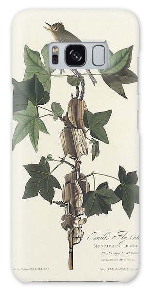 Flycatcher Galaxy Case - Traill's Flycatcher by Dreyer Wildlife Print Collections