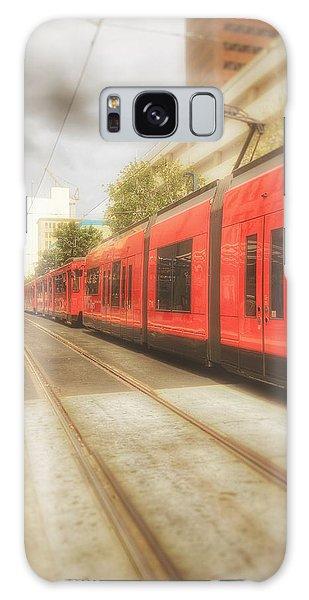 Train Daze  Galaxy Case