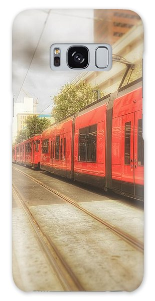 Train Daze  Galaxy Case by Regina Avila