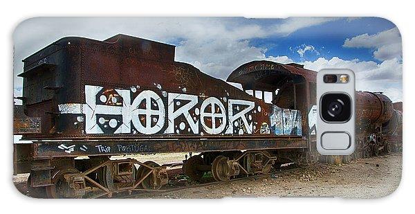 Train Graveyard Uyuni Bolivia 13 Galaxy Case