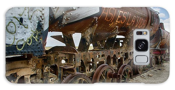 Train Graveyard Uyuni Bolivia 14 Galaxy Case