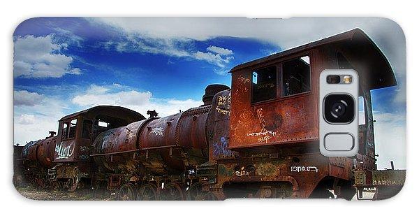 Train Graveyard Uyuni Bolivia 15 Galaxy Case