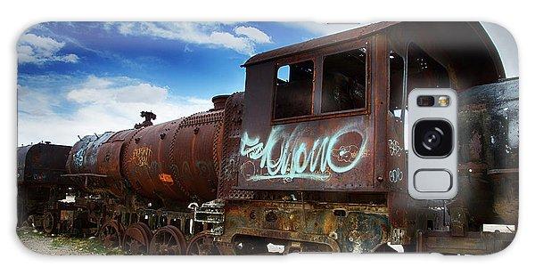 Train Graveyard Uyuni Bolivia 16 Galaxy Case