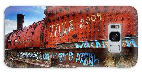 Train Graveyard Uyuni Bolivia 17 Galaxy Case