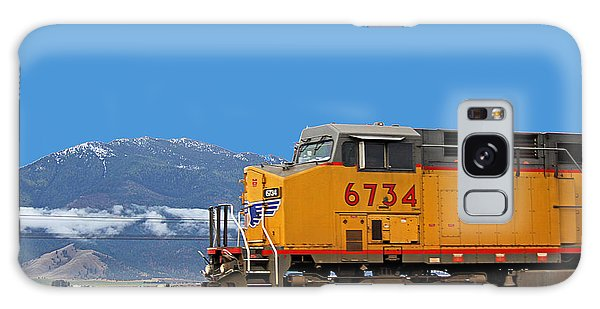 Galaxy Case featuring the photograph Train In Oregon by Dart and Suze Humeston