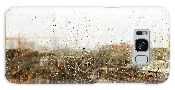 Train In The Rain Galaxy Case