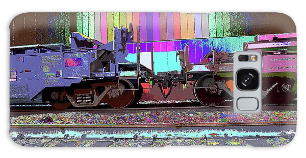Train Parked Galaxy Case