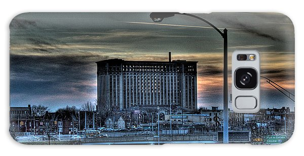 Train Station Detroit Mi Galaxy Case