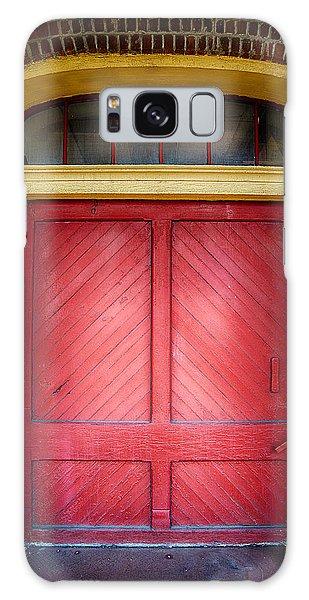 Train Station Doorway Galaxy Case
