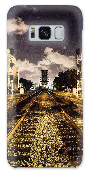 Train Tracks Galaxy Case