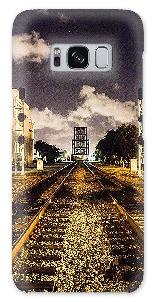 Train Tracks Galaxy Case
