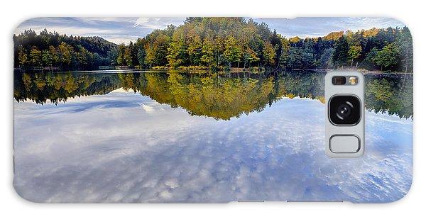 Trakoscan Lake In Autumn Galaxy Case