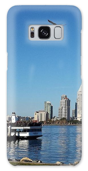 Tranquility By The Bay Galaxy Case