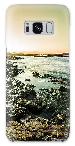 West Bay Galaxy Case - Tranquil Cove by Jorgo Photography - Wall Art Gallery
