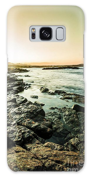 Seashore Galaxy Case - Tranquil Cove by Jorgo Photography - Wall Art Gallery