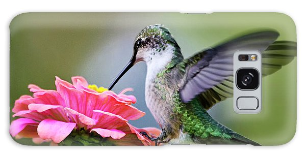 Tranquil Joy Hummingbird Square Galaxy Case