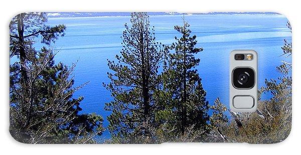 Tranquil Lake Tahoe Galaxy Case