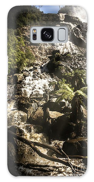 Beautiful Park Galaxy Case - Tranquil Mountain Canyon by Jorgo Photography - Wall Art Gallery