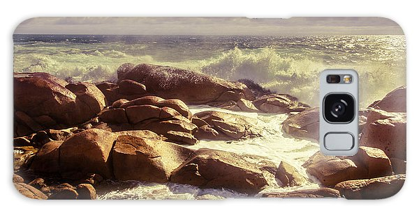 Tranquil Galaxy Case - Tranquil Ocean Views by Jorgo Photography - Wall Art Gallery