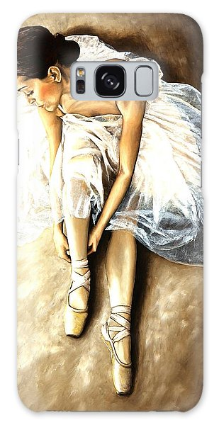 Ballerina Galaxy Case - Tranquil Preparation by Richard Young