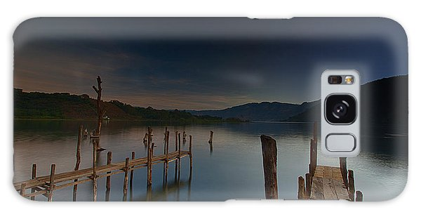 Tranquility At Atitlan Galaxy Case