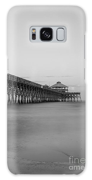 Tranquility At Folly Grayscale Galaxy Case