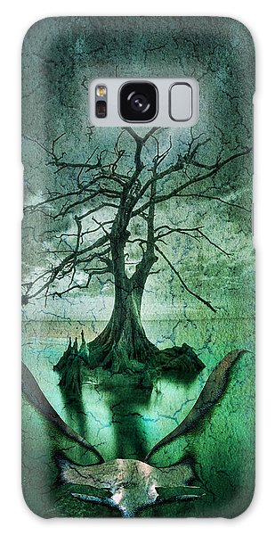 Tranquility Tree Galaxy Case by Greg Sharpe