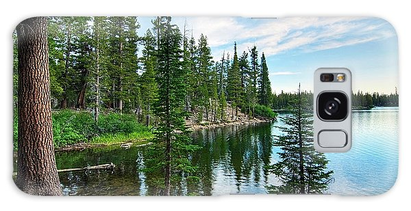 Tree Galaxy Case - Tranquility - Twin Lakes In Mammoth Lakes California by Jamie Pham