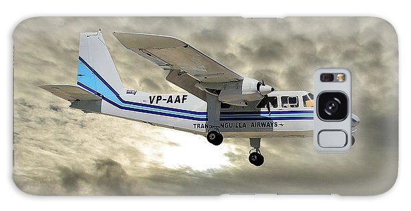 Islanders Galaxy Case - Trans Anguilla Airways Britten-norman Bn-2b-21 Islander 115 by Smart Aviation