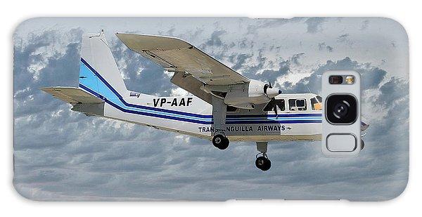Islanders Galaxy Case - Trans Anguilla Airways Britten-norman Bn-2b-21 Islander 113 by Smart Aviation